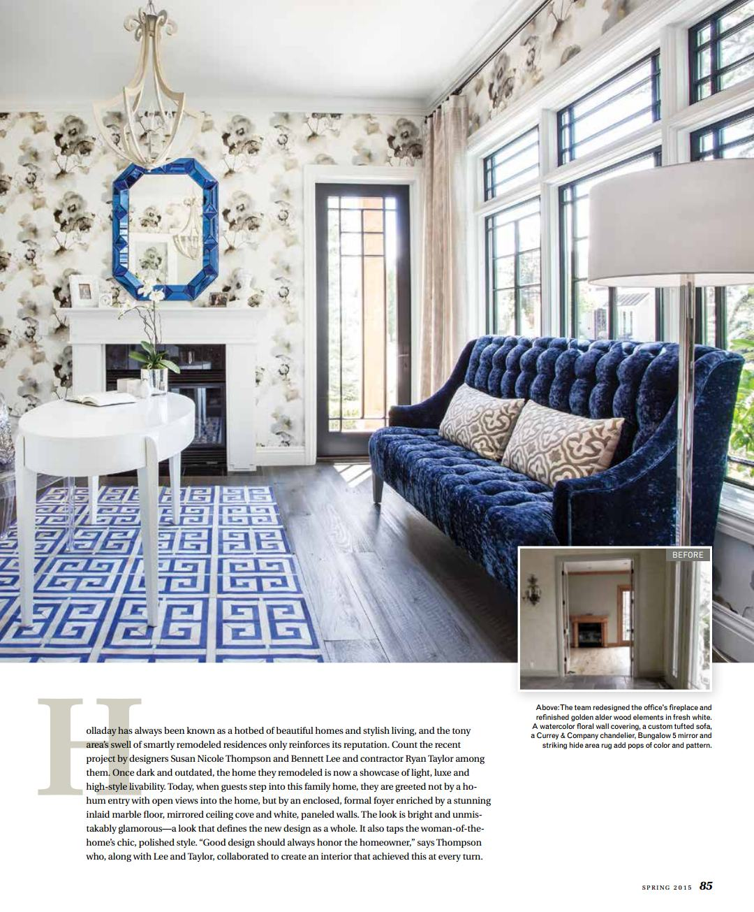 Utah Style & Design Cover Spring 2015 and Spread | Upland ... - photo#15